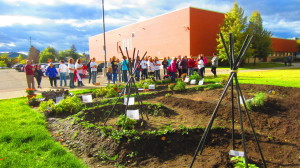 Grand Opening of Growing a Better World Garden at Flathead High School