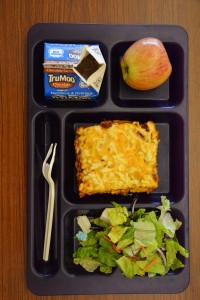 The lasagna at Park High School in Livingston, MT, a student favorite according to Foodservice Director John Polacik, features beef from local ranches.