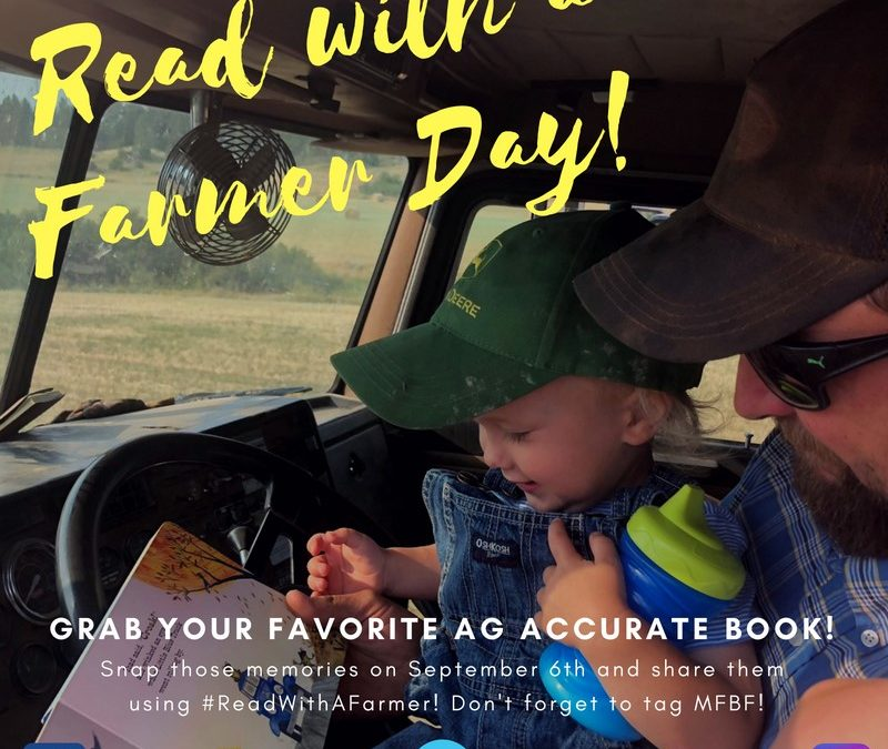 Sept. 6 is Read with a Farmer Day!